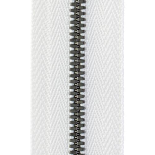 YKK® EXCELLA® エクセラ® ファスナー 3号 アンティークシルバー 100cm 3SGWH3