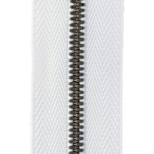 YKK® EXCELLA® エクセラ® ファスナー 3号 ブラックニッケル 100cm 3SGWV3