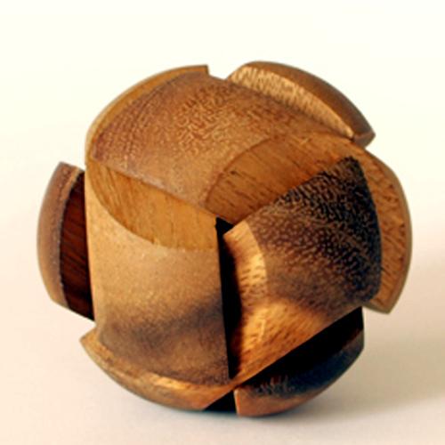 tree made 木製立体パズル「セザンヌ」