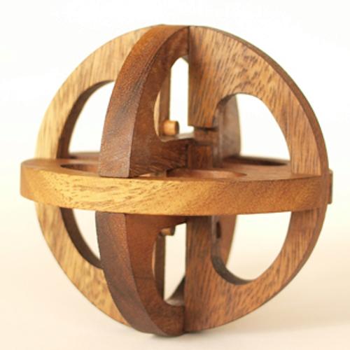 tree made 木製立体パズル「ダ・ヴィンチ Lサイズ」