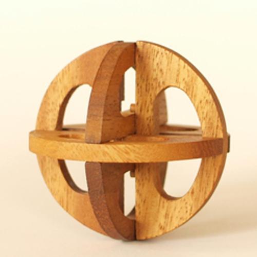 tree made 木製立体パズル「ダ・ヴィンチ Sサイズ」