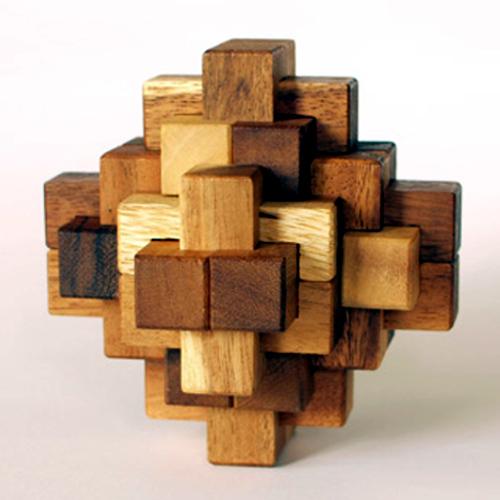 tree made 木製立体パズル「ドロクロワ」