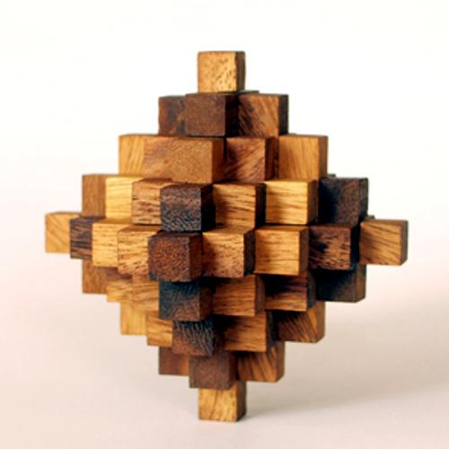 tree made 木製立体パズル「ゴーギャン33」