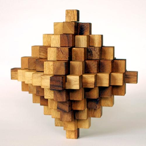 tree made 木製立体パズル「ゴーギャン51」