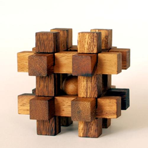 tree made 木製立体パズル「レンブラント」