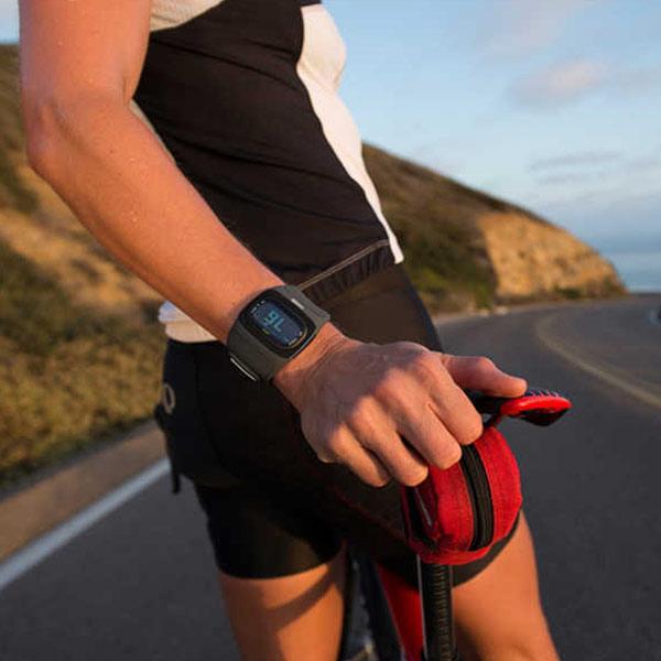 心拍計測機能付き腕時計