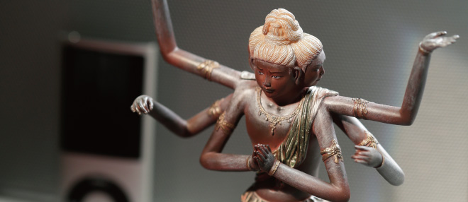 インテリアとしての仏像
