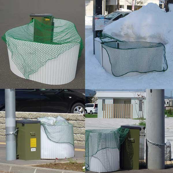 ゴミ袋集積器