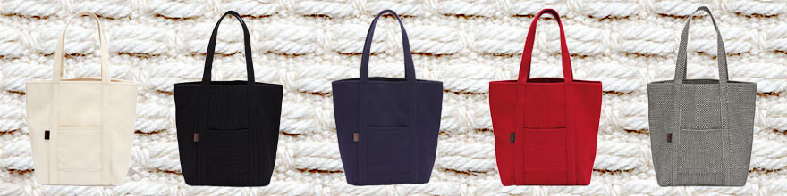伝統の三河木綿でお洒落なバッグを、、