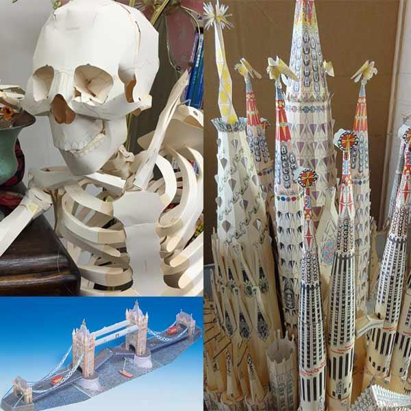 人体・建造物模型