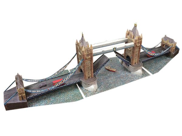 ガウディを作ったら、タワーブリッジもいかがですか?