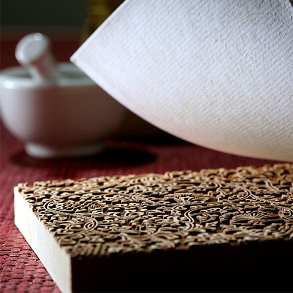 京からかみ文様 木版摺りキット