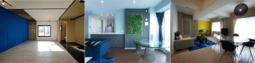 壁色を変えれば、空間は劇的に変化する