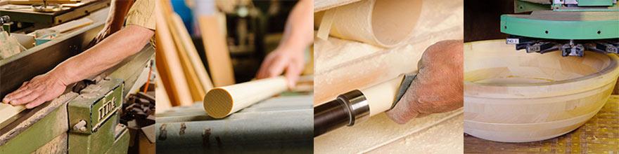 家具職人から、そば打ち道具づくりの専門に