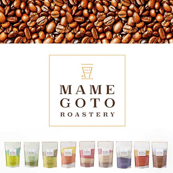 9種類のブレンドコーヒー『MAMEGOTO』