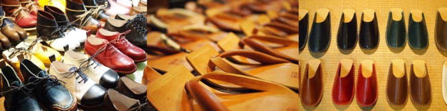 履き心地いい、手づくりの靴