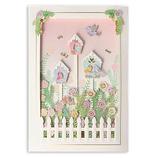 ホールマーク Birdhouses,Blooms and Picket Fence Happiness Birthday Card 誕生お祝いカード 767211│カード・ポストカード バースデー・誕生日カード