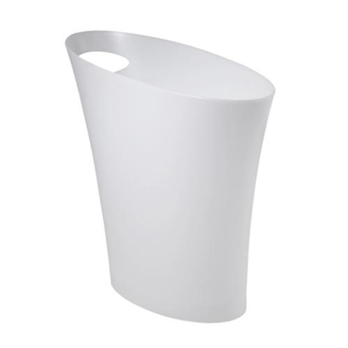 アンブラ(Umbra) スキニーカン ホワイト│ゴミ箱 ごみ箱