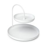 アンブラ(umbra) ポイズ ジュエリートレイ L ホワイト│収納・クローゼット用品 コレクションケース・ジュエリーボックス