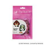 nanobeads(ナノビーズ) 107 スーパーマリオブラザース ルイージ/クリボー