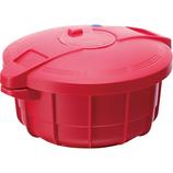 マイヤー 電子レンジ圧力鍋2.3L イタリアンレッド│電子レンジ用品 電子レンジ調理器