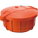 マイヤー 電子レンジ圧力鍋2.3L パンプキンオレンジ