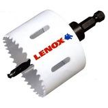 LENOX バイメタル軸付ホールソー 14892-55