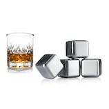 バキュバン ウイスキーストーン 4個入り│酒・ワイングッズ 製氷皿・製氷器