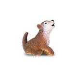 サファリ(safari) ミニオオカミ仔 341622│おもちゃ ミニチュアフィギュア