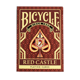 BICYCLE(バイシクル) RED CASTLE ポーカーサイズ