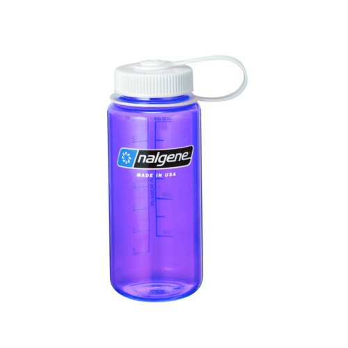 ナルゲン カラーボトル 広口 Tritan 0.5L パープル