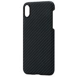 【iPhoneXR】 PITAKA MAGケース KI9001XR ブラック/グレー