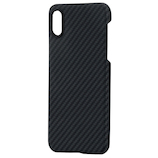 【iPhoneXS】 PITAKA MAGケース KI9001XS ブラック/グレー