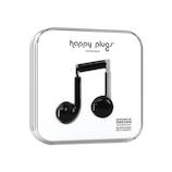 ハッピープラグス(Happy Plugs) ファッショナブルイヤホン EARBUD PLUS 7815 ブラック