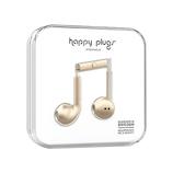 ハッピープラグス(Happy Plugs) ファッショナブルイヤホン EARBUD PLUS 7826 シャンパン