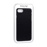 【iPhone8/7】 ハッピープラグス(Happy Plugs) スリムケース 9133 サファイアブラック