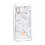 【iPhoneX】 ハッピープラグス(happy plugs) スリムケース 9160 ホワイトマーブル