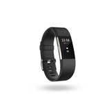 Fitbit Charge2 FB407S−JPN ブラック Lサイズ