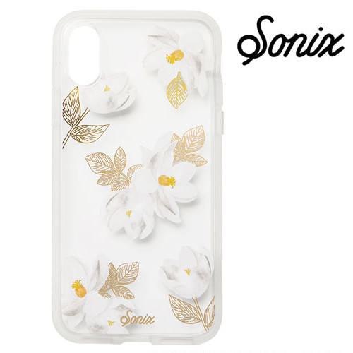 【iPhoneX】 Sonix CLEAR COAT ケース OLEANDER