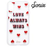 <東急ハンズ>【iPhoneX】 Sonix CLEAR COAT ケース LOVE WINS画像