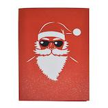 【クリスマス】 LOVEPOPカード サンタバイク