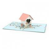 ラブポップ(Lovepop) Birdhouse 鳥のお家│カード・ポストカード グリーティングカード