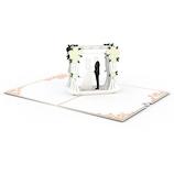 ラブポップ(Lovepop) Wedding Couple ウェディングカップル│カード・ポストカード グリーティングカード