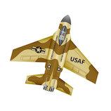 WINDNSUN マイクロカイト F16 デザートカモ│おもちゃ その他 おもちゃ