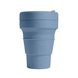 ストージョ ポケットカップ 折り畳みマイカップ 355mL スティール│食器・カトラリー グラス・タンブラー