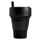 ストージョ ビギー 折り畳みマイカップ 470mL インク│食器・カトラリー グラス・タンブラー