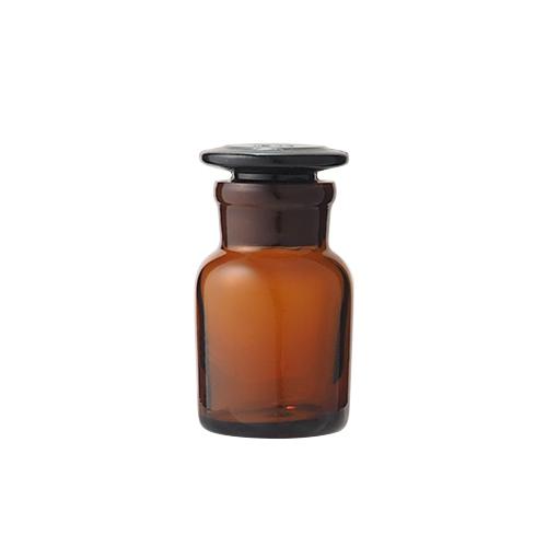 広口試薬瓶 茶 30mL