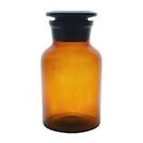 広口試薬瓶 茶 250mL│実験用品 広口瓶・細口瓶