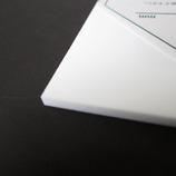 アクリル板 270×320×3mm つや消し白