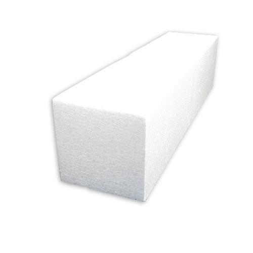 発泡スチロール角柱 100×100×400